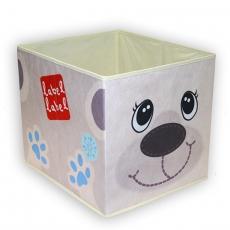 Label-label Úložný box na hračky Lední medvěd