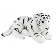 Rappa Plyšový tygr bílý
