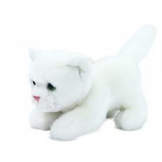 Rappa Plyšová kočka bílá