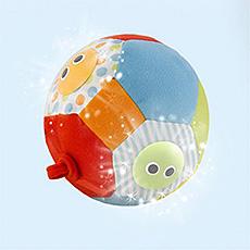 Yookidoo Veselý míč svítící a hrající