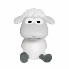 Zazu Dětská lampička a noční světlo ovečka FIN - šedá