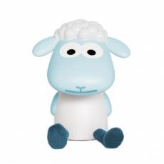 Zazu Dětská lampička a noční světlo ovečka FIN - modrá