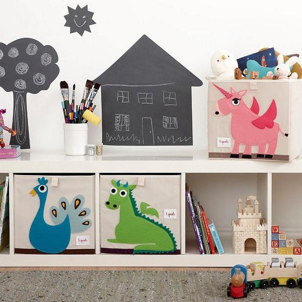 3 Sprouts Úložný box na hračky